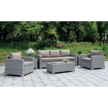 6 PC 1842 Brindsmaid PATIO SET W/ COFFEE TABLE & 2 END TABLES