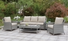 6 PC. HYSHAM PATIO SET W/ COFFEE TABLE & 2 END TABLES