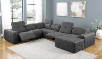 6PC recliner sectional  # 603471P