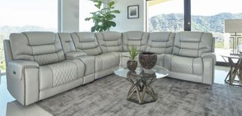 6PC Recliner sectional  # 609470PP