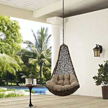 ABATE OUTDOOR PATIO 2657 SWING CHAIR WITHOUT STAND