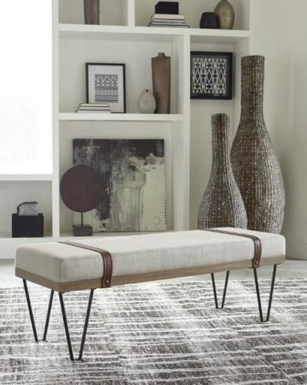 Scott Living accent stool accent bench furniture 910240 DC ...