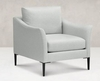 ACCENT METAL LEG CHAIR Made in USA Living room # 30410