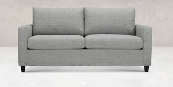 Adam Sofa Queen Sleeper Made in USA Custom upholstery Living room