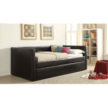 Aelbourne Upholstered Day Bed with trundle # 39140