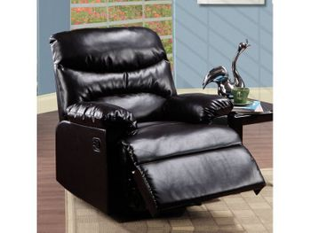 Alyssum Recliner bonded leather chair # 59017