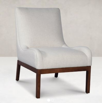 ARMLESS CHAIR Made in USA Living room # 1672