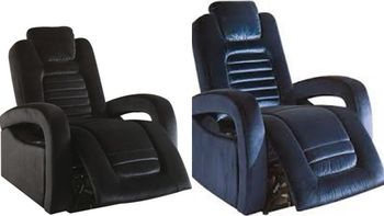 Ava Recliner Top Grain Leather chair # 59580