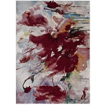 BLUME ABSTRACT FLORAL 4X6 AREA 1090A RUG