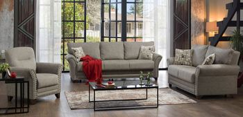Brady sofa Full Size sleeper with Storage