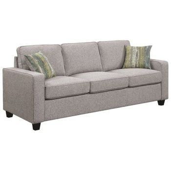 Brownswood Transitional Upholstered Sofa with Track Arms by Scott Living