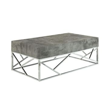 Burgo Coffee Table with Grey Faux Marble Top # 84575