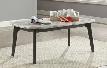 Calvisia Coffee Table with Marble Top # 83010