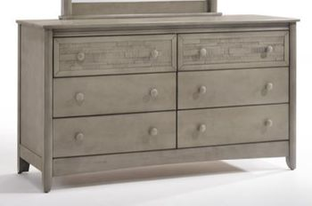 Cape Cod Secrets 6-Drawer Dresser - 10 Year Warranty