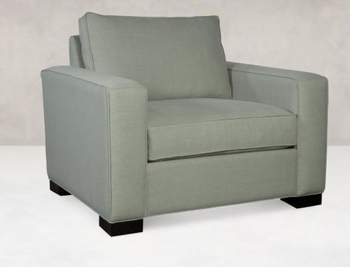 Custom CHAIR AND HALF Made in USA Living room # 49010