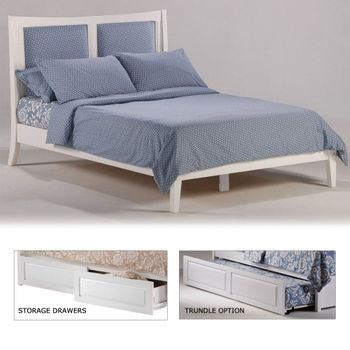 Chameleon king Platform bed with 2 Tall storage drawers- K Series / 10 Year Warranty