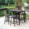 CHERI 5 PC. PATIO COUNTER HT. DINING SET
