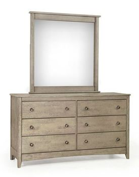Chesapeake Secrets Dresser and Mirror - 10 Year Warranty