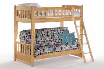 Cinnamon Twin/Futon Bunk - 10 year warranty