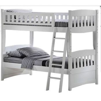 Cinnamon Twin/Twin Bunk Bed - 10 year warranty
