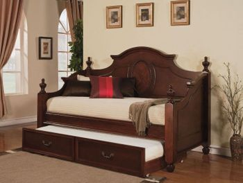 Classique wooden Day Bed with trundle # 11850