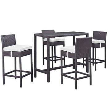 CONVENE 5 PIECE OUTDOOR PATIO PUB 1964 SET