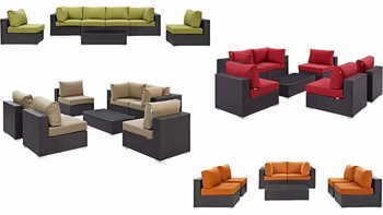 CONVENE 7 PIECE OUTDOOR PATIO SECTIONAL SET 2164