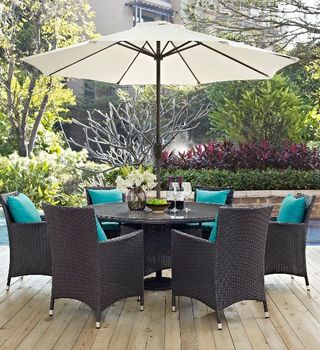 CONVENE 8 PIECE OUTDOOR PATIO 2194 DINING SET