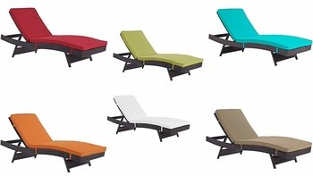 CONVENE OUTDOOR PATIO CHAISE IN ESPRESSO