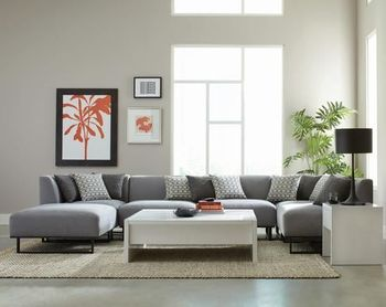 Corrnie Modular Sectional Living room Collection by Scott Living