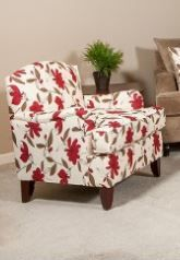 Custom Made in USA Accent Chair model # 0070-10 Living room