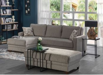 Dearborn Sectional Full Size Sleeper with Storage