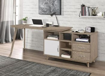 Desk with a cabinet # 804475