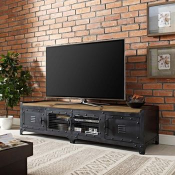 "Dungeon 63"" TV Stand in Black 2643"