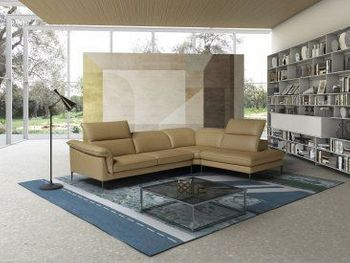 Eden Premium Leather Sectional