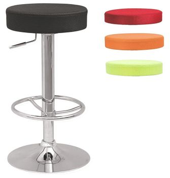 Floor Model Stool with w/3 Extra Slip Cover Colors
