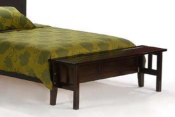 Footboard Queen Bench