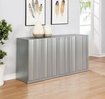 Friedman Modern Server with Gold Finish by Donny Osmond Home