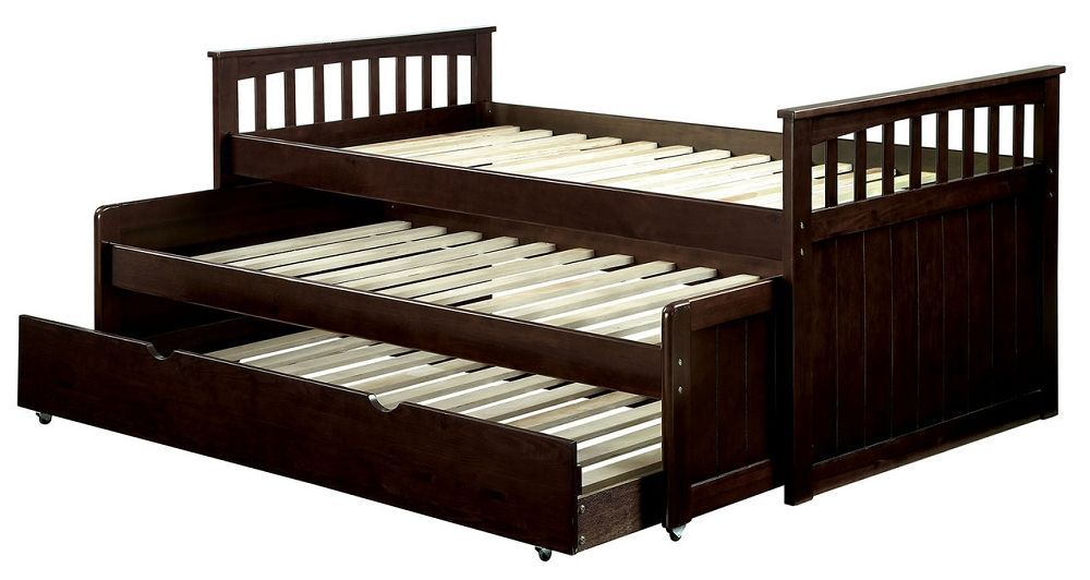 Metal Twin Nesting Daybed With Trundle Cm1610 Daybeds Size Md Furniture Stores
