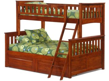 Ginger Twin/Full Bunk with Storage - 10 year warranty