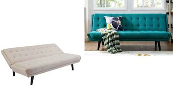 Glance Tufted Convertible Fabric 3093 Sofa Bed