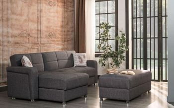 Harmony Sectional Sleeper Storage