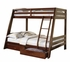 Hawkins 2-Drawer Twin Over Full Bunk Bed 460228