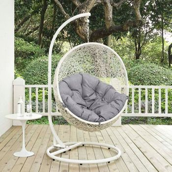 HIDE OUTDOOR PATIO 2273 SWING CHAIR WITH STAND