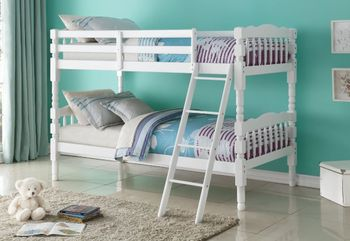 Homestaed Twin/Twin Bunk Bed Youth Furniture Stores
