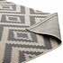 JAGGED GEOMETRIC DIAMOND TRELLIS 1135A-58 INDOOR AND OUTDOOR AREA RUG