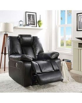 Jailene Leather-Aire Recliner chair # 59261