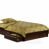 Basic Queen Platform Bed with 2 storage drawers (P/Short Series) / 10 years warranty