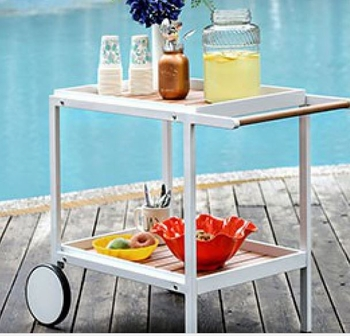 KALI OUTDOOR SERVING CART