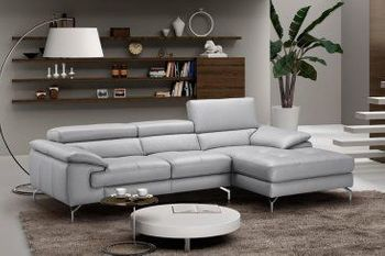 Liam Premium Leather Sectional